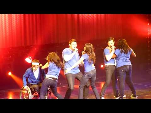 Push It [HD] Glee Live! at the Gibson Amphitheater