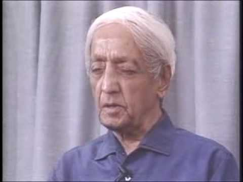 J. Krishnamurti - Brockwood Park 1984 - Public Talk 2 - Looking at fear, that extraordinary jewel