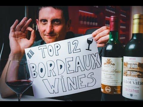 Top 12 Bordeaux Chateaux👌🍷 Wines You Should Know