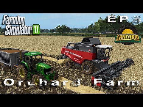let's play | Farming Simulator 2017 | Orchard Farm | EP3
