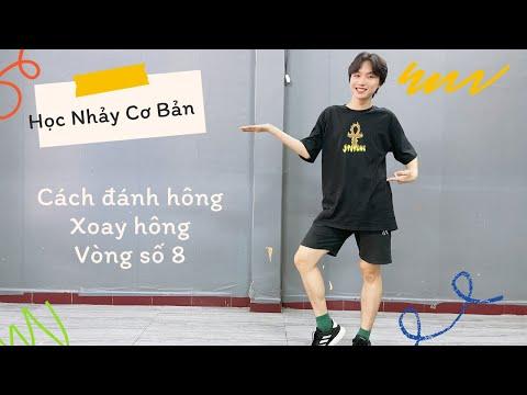 [Dạy Nhảy Cơ Bản Phần 2] Cách sử dụng HÔNG, đánh hông, vòng số 8 ... | Basic Dance | BinGa STUDIO