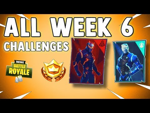 HOW TO COMPLETE ALL SEASON 4 WEEK 6 CHALLENGES IN FORTNITE BATTLE ROYALE