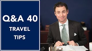 Travel Tips That Work ✈ Q&A 40 | Kirby Allison