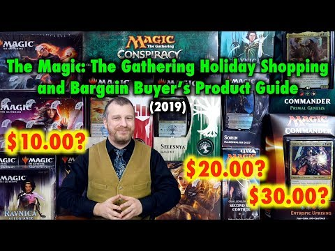 The Magic: The Gathering Holiday Shopping And Bargain Buyer's Product Guide (2019)