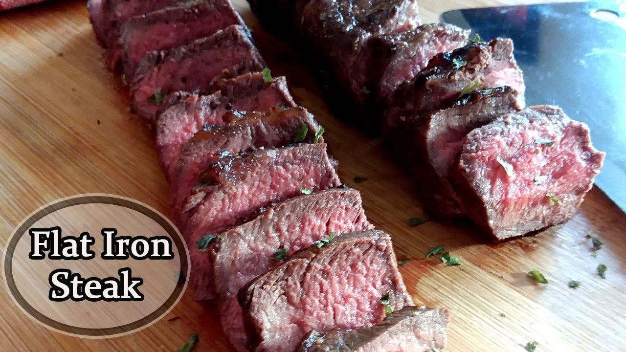 Air Fryer Steak – Flat Iron Steak