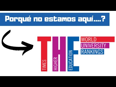 RANKINGS Universitarios THE