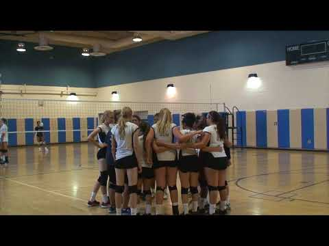 Vista Murrieta High School Freshman Girls Volleyball vs Santiago High School Match 2