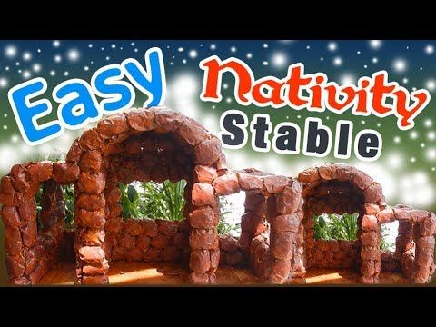 Easy Nativity Stable Part 1