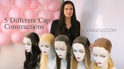 UniWigs 5 Different Types of Wig Cap Construction|Wig Tutorial