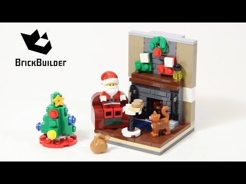 Lego 40125 Santa's Visit - Lego Speed Build