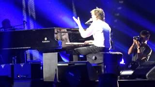 Paul McCartney performs Live and Let Die live concert Lubbock, Texas
