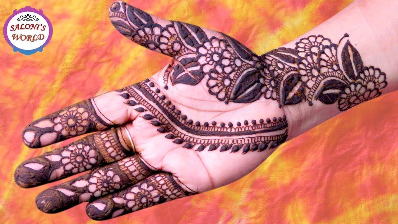 Henna Mehndi Vector : Tatouage style henn. stunning lotus mehendi henn with