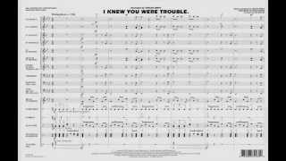 I Knew You Were Trouble arranged by Tim Waters