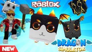 *NEW* Dragon Simulator Roblox + NEW CODES!!!