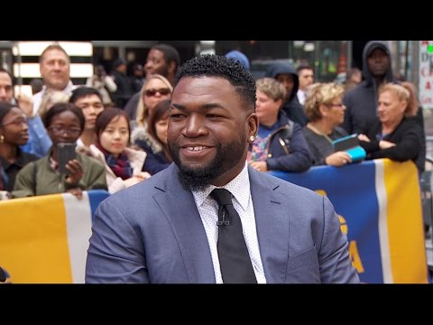 Baseball icon David Ortiz discusses his new autobiography live on 'GMA'