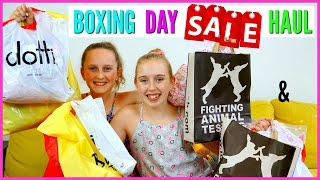 Come Shopping With Me! BOXING DAY SALES / CHRISTMAS SALES Haul and Vlog!