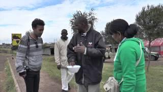 EQUATOR AT NANYUKI, KENYA