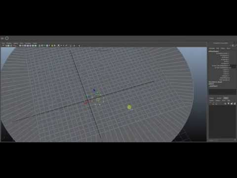tool will create a round circle from an edge selection. Maya script