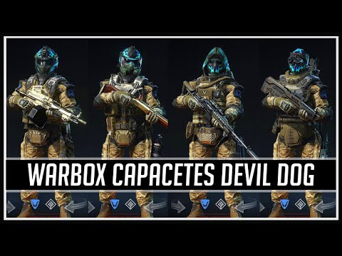 Warface Warbox Devil Dog Capacetes