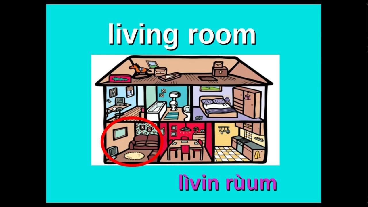 Descrivere Una Stanza Da Letto In Inglese.Inglese1 Le Stanze Della Casa Youtube