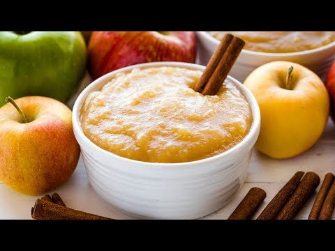 How to Make Applesauce | The Stay At Home Chef