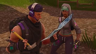 FORTNITE THE MOVIE - A LOVE STORY! PART 2 [NL]