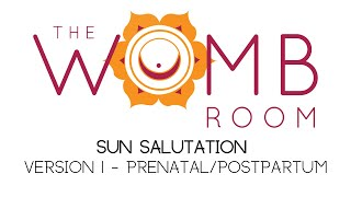 Sun Salutation Variation 1 for Prenatal and Postpartum Yoga