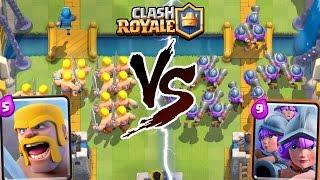 EPIC BOYS vs GIRLS DECK CHALLENGE In Clash Royale!