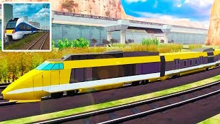 Train Game Simulator Real Train Driving Games (by Free Simulation Games) Android Gameplay Trailer