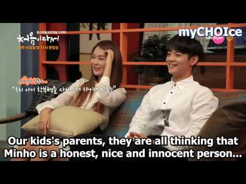 "[ ENG SUB ] MINHO - Kiss scene ❤ ""My First Time"" Ep.7 Making"