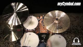 """Paiste 21"""" Twenty Masters Dark Dry Ride Cymbal (5501721-1042214W)"""