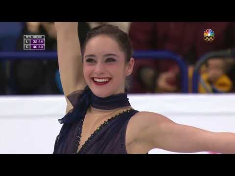 2017 Worlds   Ladies   SP   Kaetlyn Osmond   Sous le ciel de Paris, Milord