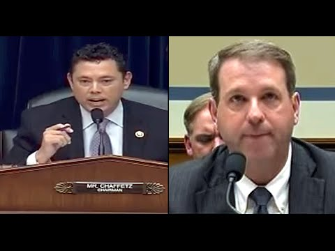 RickWells.US  Jason Chaffetz Serves FBI Asst Director With Subpoena During Hearings