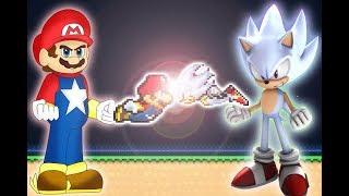 Mario Neo vs Hyper Sonic