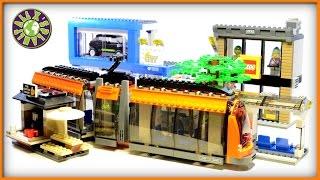 Lego City Square Stop Motion Review 60097 | ALEXSPLANET
