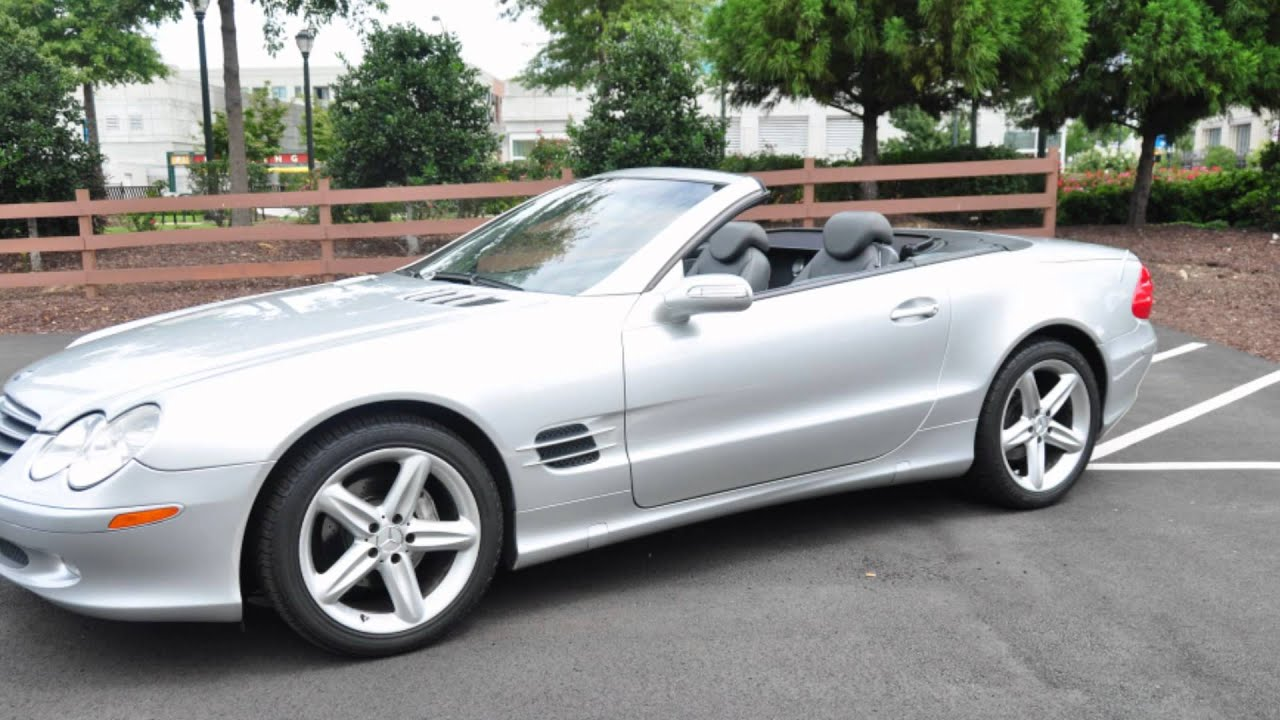 2004 mercedes benz sl500 for sale youtube. Black Bedroom Furniture Sets. Home Design Ideas