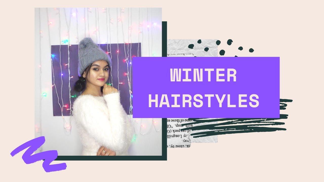 [VIDEO] - Cute Winter Cap Hairstyles | Hair Tutorial | Winter Hat Hairstyles 1