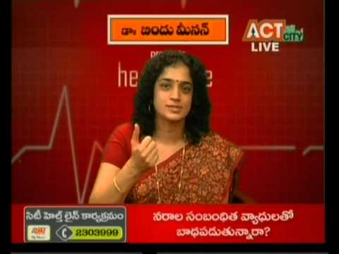 Dr Bindu Menon Live Interview on ACN Channel Nellore - YouTube
