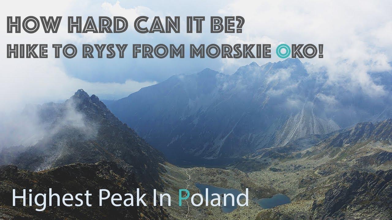 Hiking to Rysy peak - the highest mountain in Poland