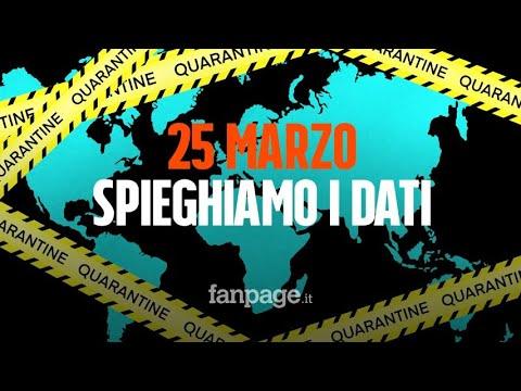 Coronavirus Italia, il bollettino del 25 marzo: 'La frenata continua. È in arrivo il famoso picco'