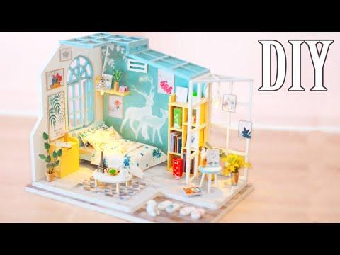 DIY Miniature Dollhouse Kit || Sweet Melody - Miniature Land