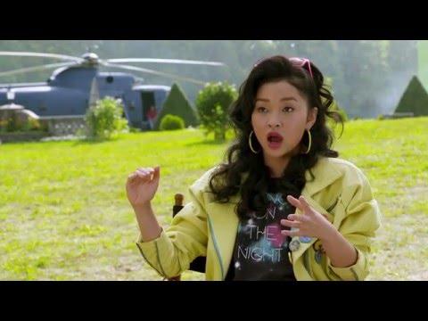 """X-Men Apocalypse """"Jubilee"""" Behind The Scenes Interview - Lana Condor"""