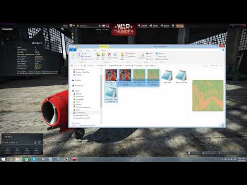 War Thunder BLK Files How to edit