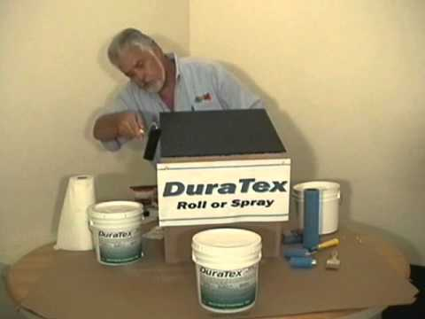 Duratex Roller Application Youtube