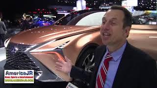 Lexus LF-1 Limitless concept debuts at 2018 NAIAS