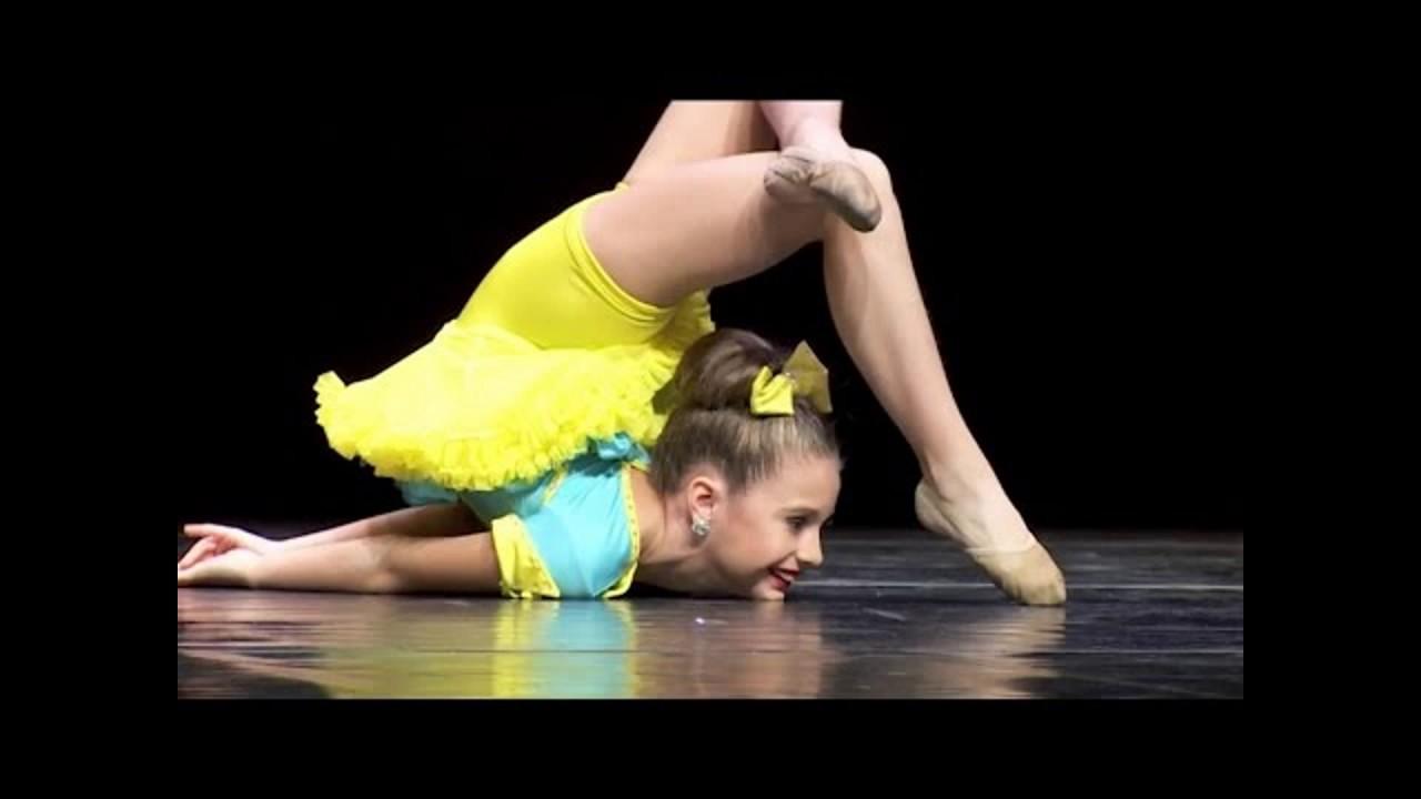 Las Chicas Más Flexibles de Dance Moms 2016