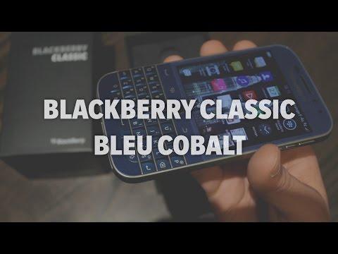 Aperçu du BlackBerry Classic Bleu Cobalt - Addicts à Blackberry 10