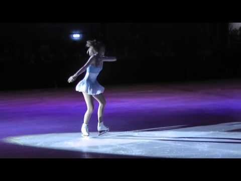 Ice skating routines to Whitney Houston - I will always love you