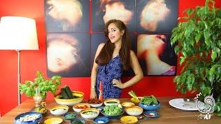 لازانیا ی خام گیاهی انار سبز و دلایل خام گیاهخواری ☆ Raw vegan lasagna & why raw veganism