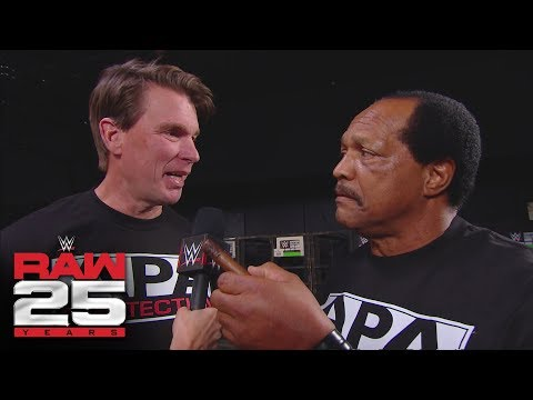 The APA is back in business: Raw 25th Anniversary Pre-Show